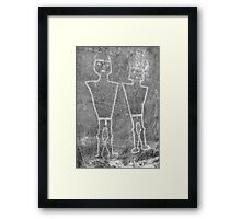 Knobby Knee Twins Framed Print