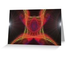 Tail Light Reflector Gnarl  (UF0232) Greeting Card