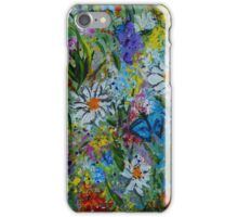 Garden Rhythm, wall art, home decor  iPhone Case/Skin