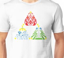 Triforce (without sage emblems) Unisex T-Shirt