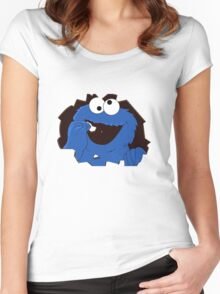 cookie monsta Women's Fitted Scoop T-Shirt