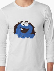 cookie monsta Long Sleeve T-Shirt