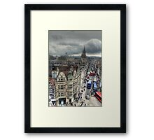 The High Street - Oxford Framed Print
