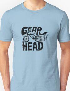 Gearhead -  black   Unisex T-Shirt