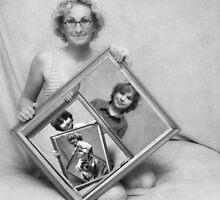 My Modern Family Portrait by Tam  Locke