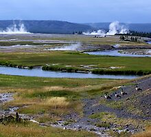 Midway Geyser Basin -Yellowstone National Park, WY by Rebel Kreklow