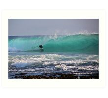 NSW south coast australia Art Print