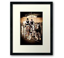 Wedding Day Framed Print