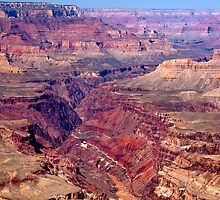 Grand Canyon - Inner Gorge Colors by Kellypix
