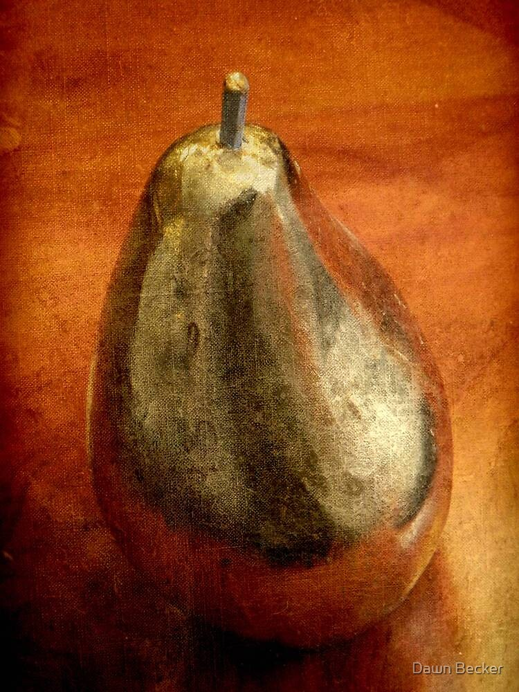 A pear © by Dawn M. Becker