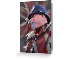 London Bobby Greeting Card