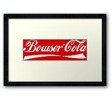 Bowser Cola Framed Print