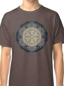 BICYCLE WITH GOLD BRANCHES II MANDALA Classic T-Shirt