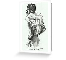 """Sweetness"" Caricature by Sheik Greeting Card"