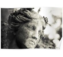 Ellicott City, Maryland - Stone Woman Poster