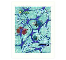 """Starfish Polka"" Art Print"