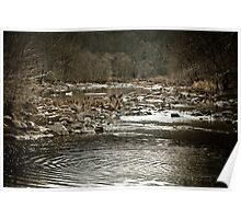Fall Line - Photography along the Rappahannock River Poster