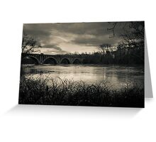 Fall Line - Photography along the Rappahannock River Greeting Card