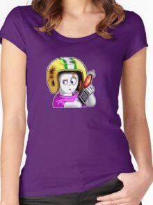 Commander Keen Women's Fitted Scoop T-Shirt