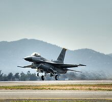 F16 (Moody Takeoff) by Andrew Holford