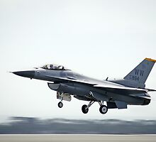F-16 Fighting Falcon (SSGT Eric McClarey) Takeoff by Andrew Holford
