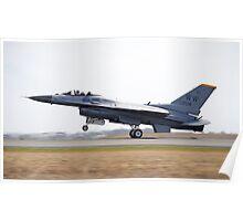"""F/A-18F Super Hornet """"HYFI"""" Poster"""