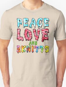 Peace Love and BKnitts T-Shirt