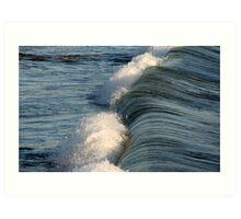 Wavetop Art Print