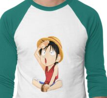 one piece Men's Baseball ¾ T-Shirt