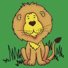 Cute Little Lion  by Sarah Trett