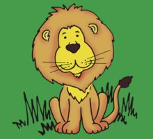 Cute Little Lion  by Sarah Trett