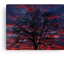 Lake Oswego Sunset Canvas Print