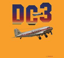 DC3 T-shirt Design by muz2142