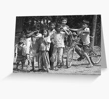 Cambodian Children Greeting Card