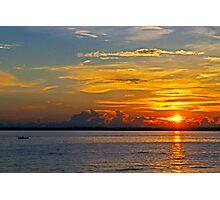 September sunset Photographic Print