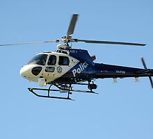 Police chopper NSW by Tony Bowler