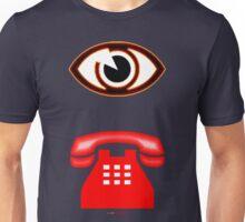 Eye Phone T-shirt Design Unisex T-Shirt