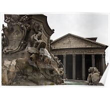 Charming Monsters - Fountain of the Pantheon Poster