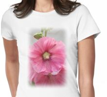 Hollyhocks Womens Fitted T-Shirt