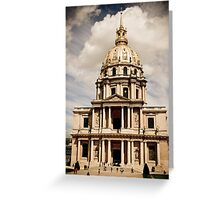 Historical Architecture Greeting Card