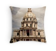 Historical Architecture Throw Pillow