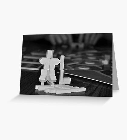 Hockey Catan Sculpture Greeting Card