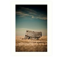 Leaning Towards The Past Art Print