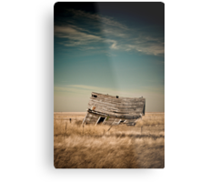 Leaning Towards The Past Metal Print