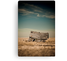 Leaning Towards The Past Canvas Print
