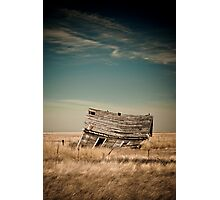 Leaning Towards The Past Photographic Print