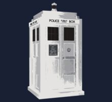 TARDIS: Police Box: Time And Relative Dimension In Space Kids Clothes