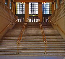 Canal St Steps by TeaCee