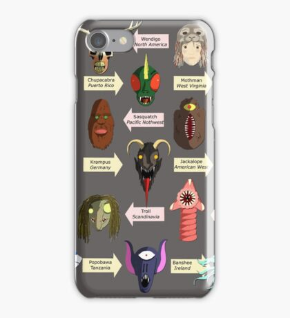 A Few Select Creatures iPhone Case/Skin
