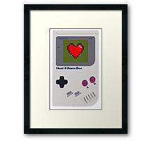 Neat-O Game Box. Framed Print